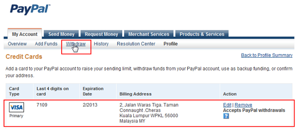 Does Paypal Accept Prepaid Visa Cards