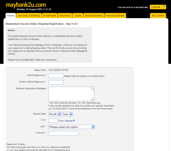 Withdraw Paypal Funds to Maybank Visa Debit Card - E