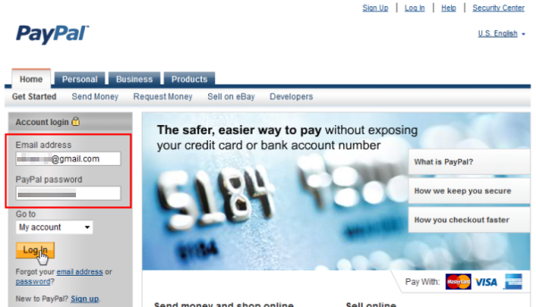 Withdraw Paypal Funds into Visa Credit, Debit or Prepaid